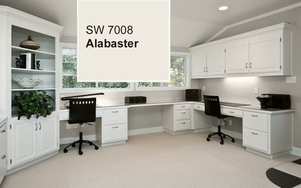 Sherwin Williams Alabaster Paint Color 2016